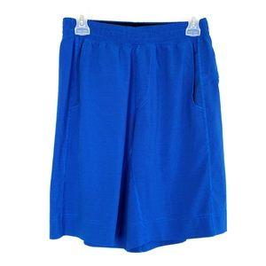 EUC Lululemon Men's Blue Striped Core Shorts